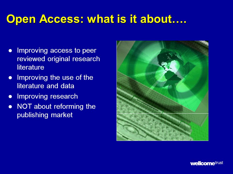 Open Access: what is it about….