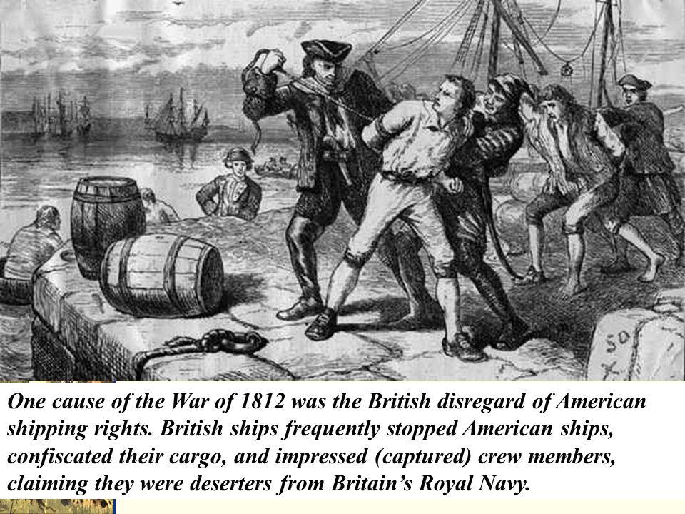 American merchant Mr.President, the British and French keep seizing American merchant ships.