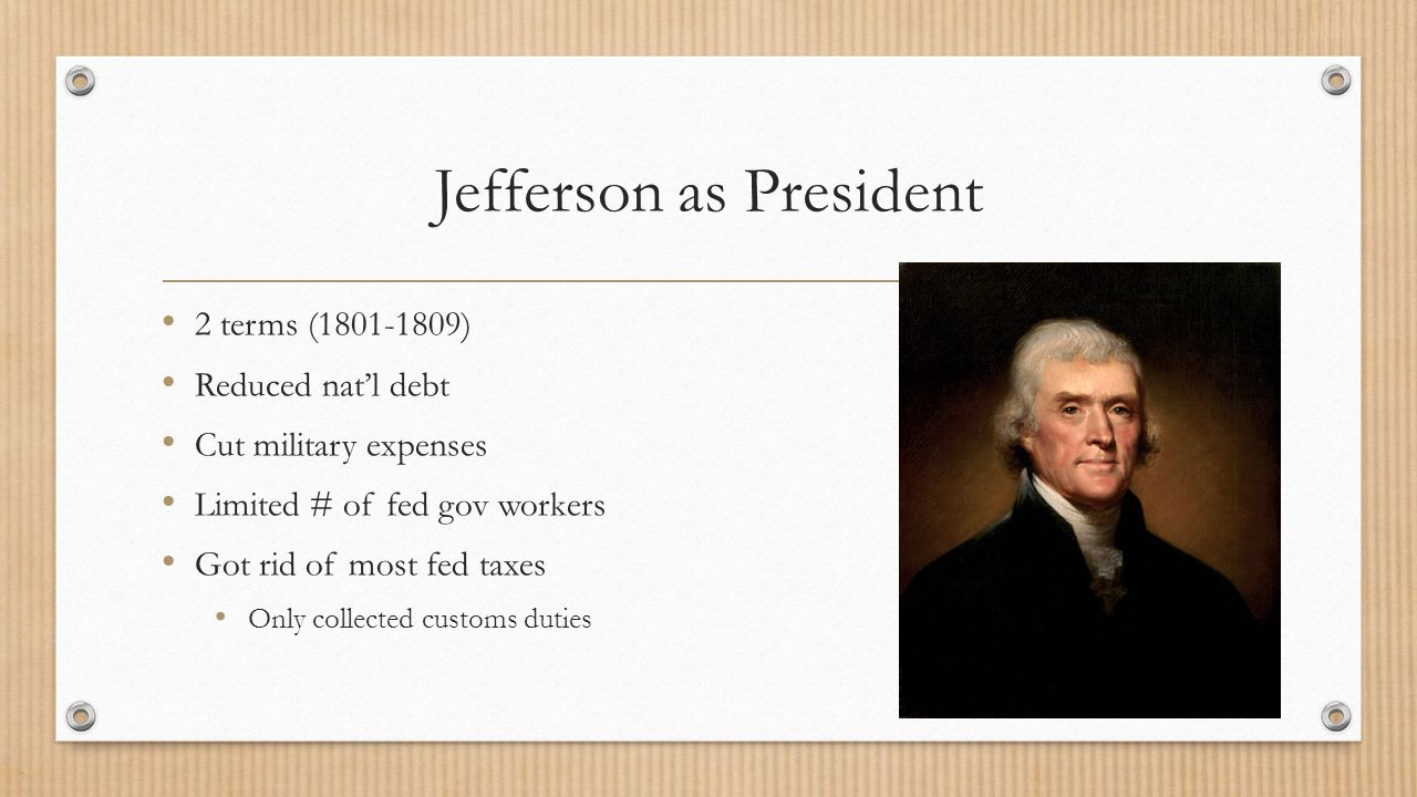 Judiciary Act of 1801 Before Jefferson took office Adams made hundreds of court appointments Chief Justice: John Marshall Strengthens Supreme Court Jefferson to Madison (Sec of State): don't deliver commissions Marbury v.