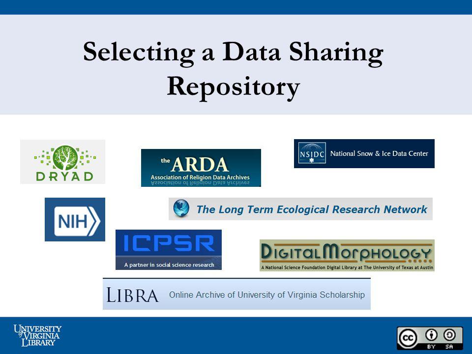 2 Why Share Data.