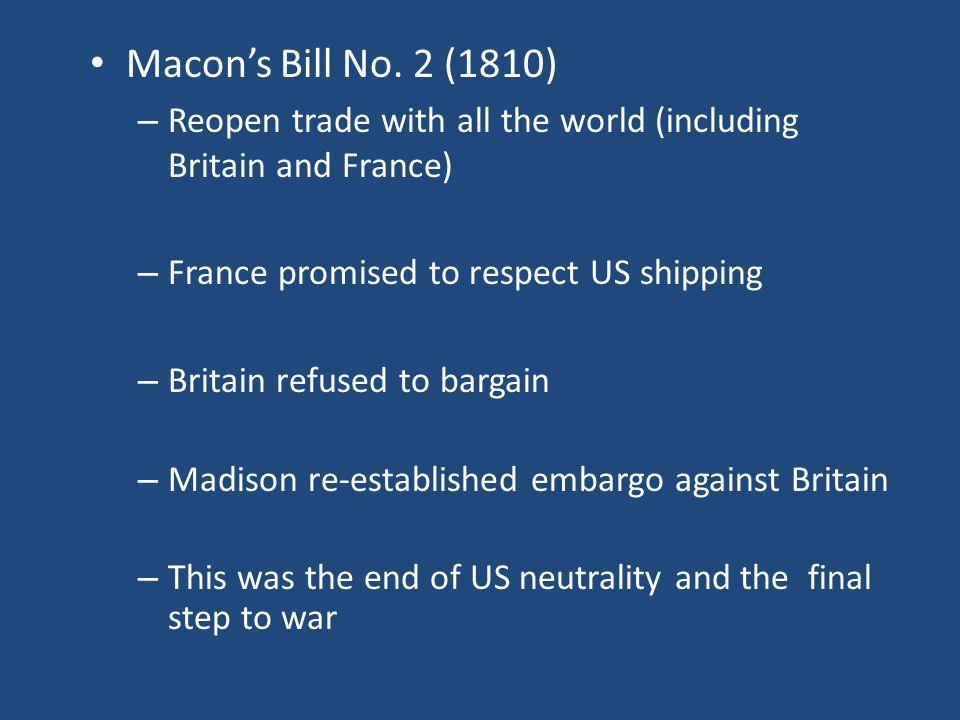 Macon's Bill No.