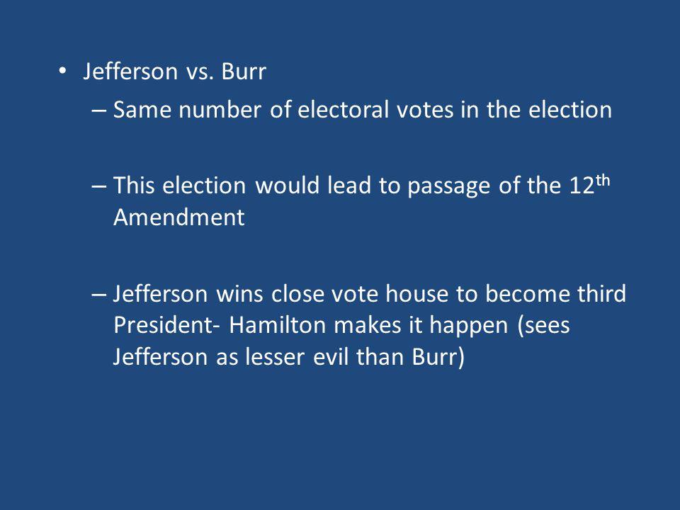 Jefferson vs.