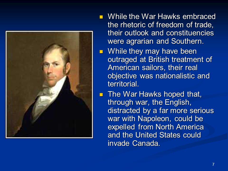 18 The Americans, seeing the massive British advantage, retreated to improvised defenses around Plattsburgh, New York.