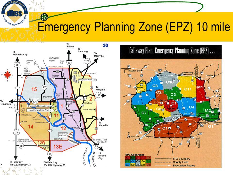 Ingestion Planning Zone 50 mile