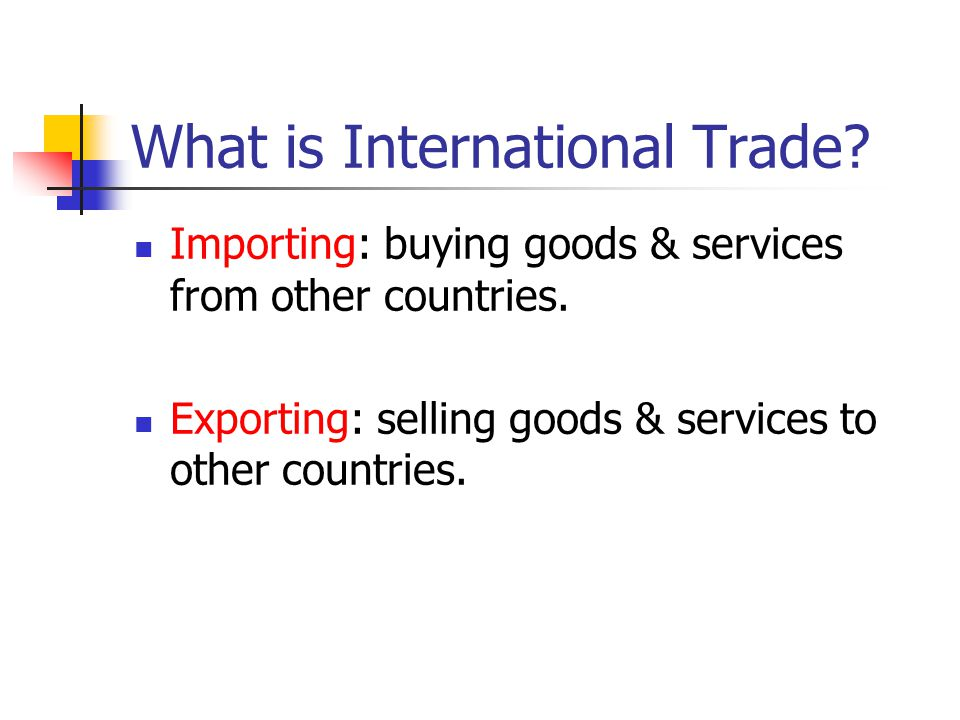 What is the Balance of Trade? (TV) Visible Exports – Visible Imports