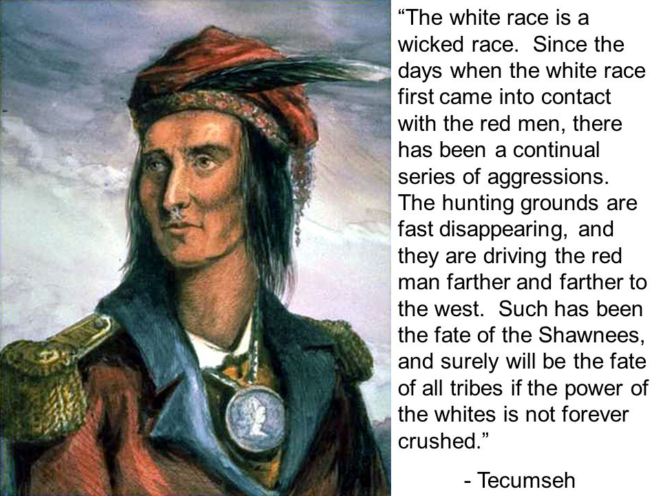 The white race is a wicked race.