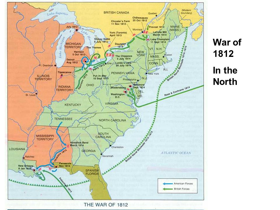 War of 1812 In the North