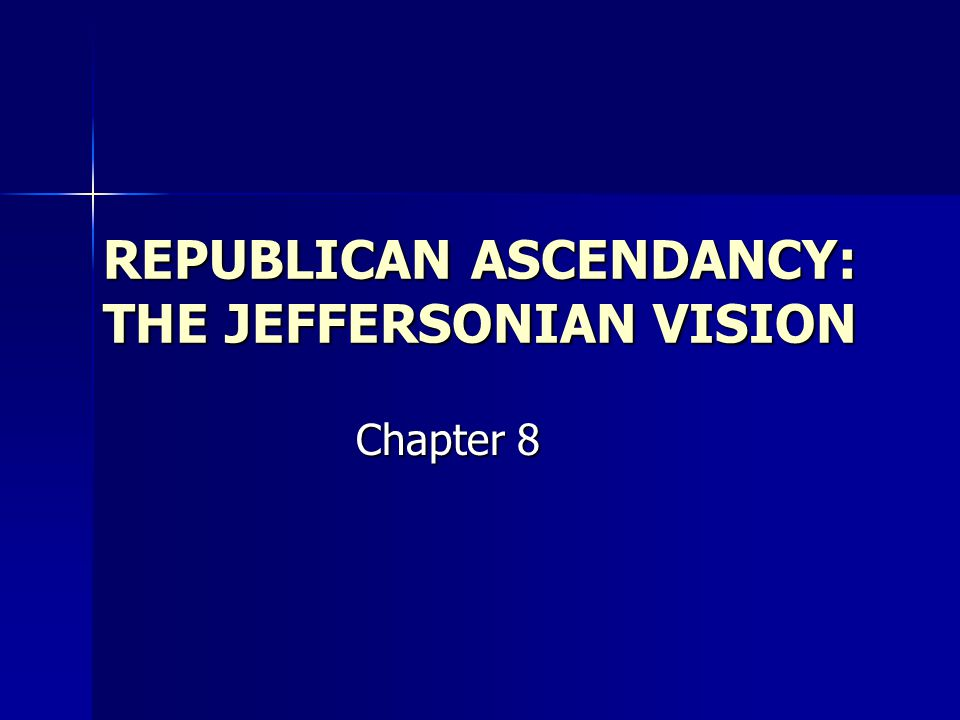Jeffersonian Reforms Priority to cutting federal debt, taxes Priority to cutting federal debt, taxes Federal expenses trimmed by cutting military Federal expenses trimmed by cutting military Reduction of the army removes threat to Republican government Reduction of the army removes threat to Republican government Competent bureaucrats retained regardless of party Competent bureaucrats retained regardless of party Federalists retire from public life Federalists retire from public life Ambitious Federalists become Republicans Ambitious Federalists become Republicans