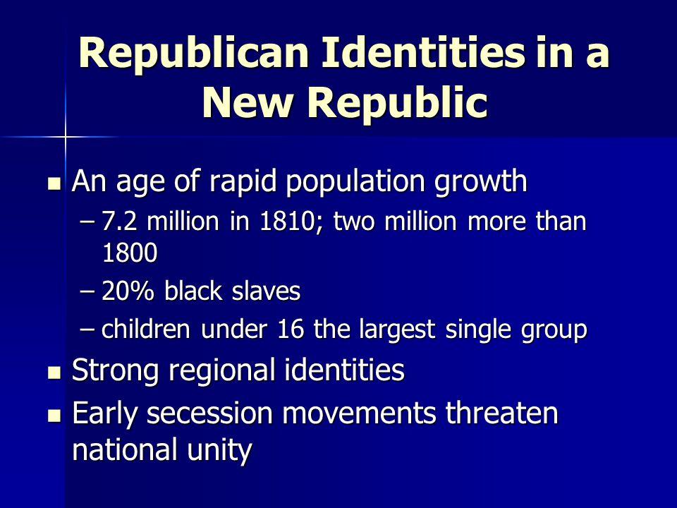 II.The Westward Movement and the Jeffersonian Revolution The Jeffersonian Presidency 1.