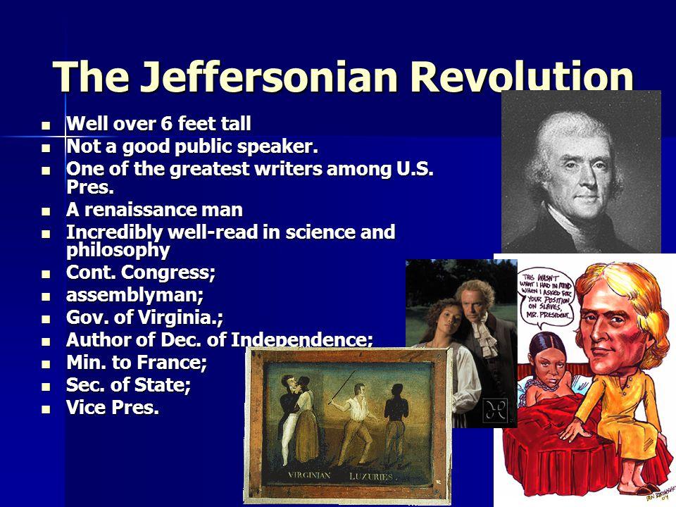 Jefferson's Political Principles  Themes of inaugural  Jefferson's political principles Rejected the idea of a political elite.