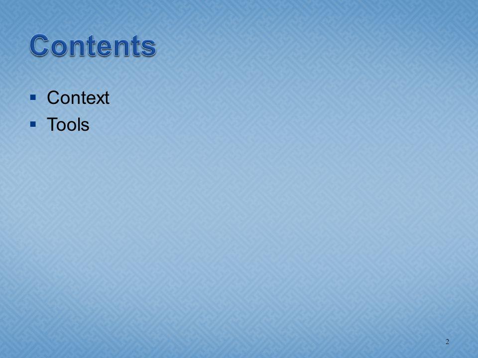  Context  Tools 2