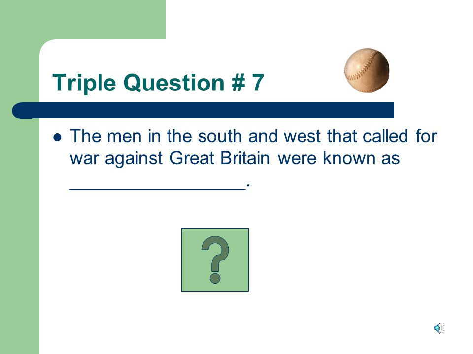 Answer James Madison