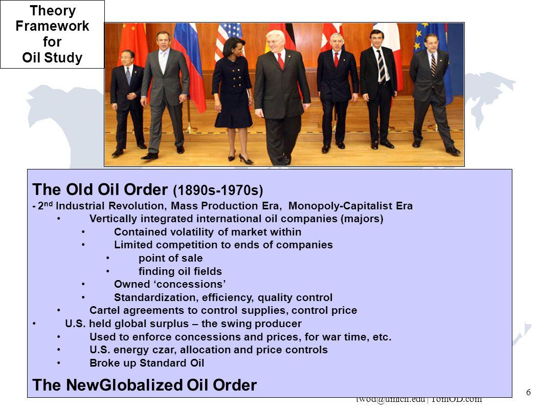 twod@umich.edu | TomOD.com 27 1980-90's: US/OECD's IEA Vs.