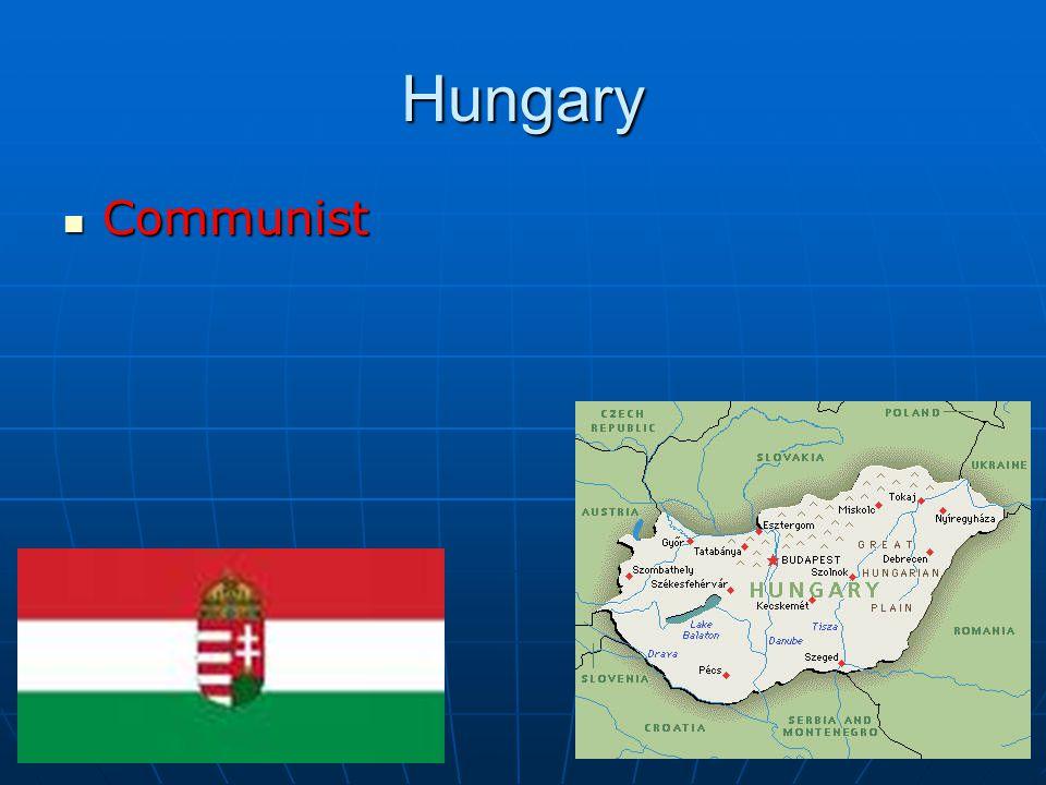 Hungary Communist Communist