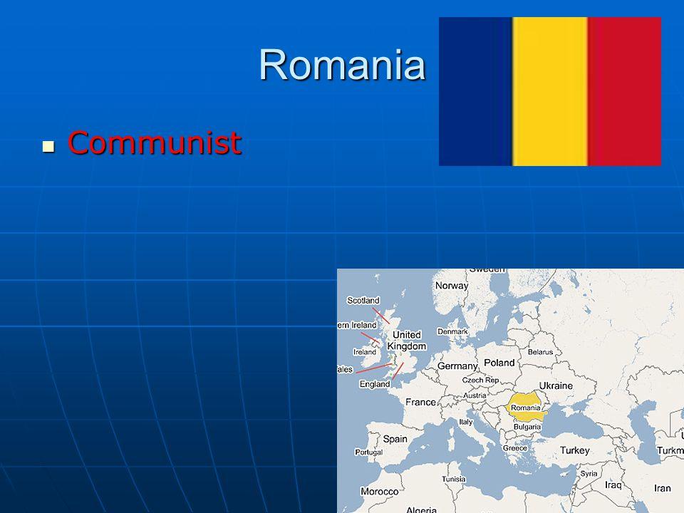 Romania Communist Communist