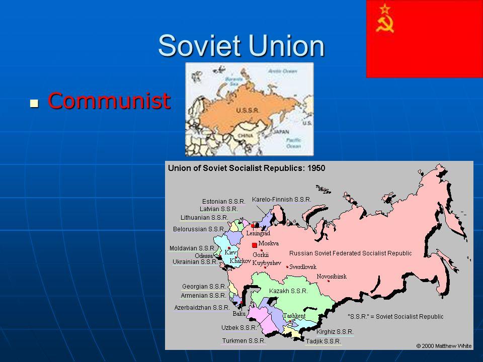 Soviet Union Communist Communist