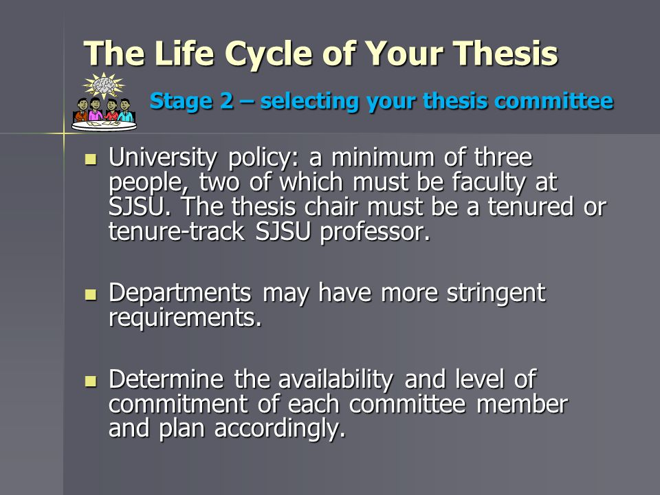 Submitting Your Thesis to GS&R Review outcome The thesis coordinator will email you about a month after the deadline regardless if you submitted early.
