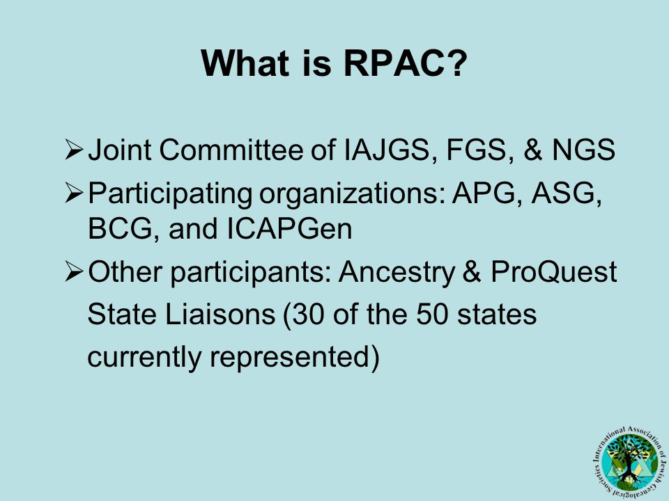 What is RPAC.