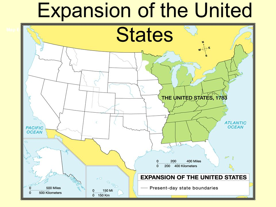 Map 6 of 45 Expansion of the United States