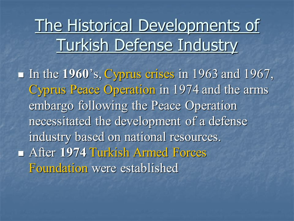 STRUCTURE OF THE TURKISH DEFENSE INDUSTRY NUMBER & SIZE DISTRIBUTON OF BUYERS AND SELLERS, SELLER CONCENTRATION AND DOMINANCE OF FIRMS