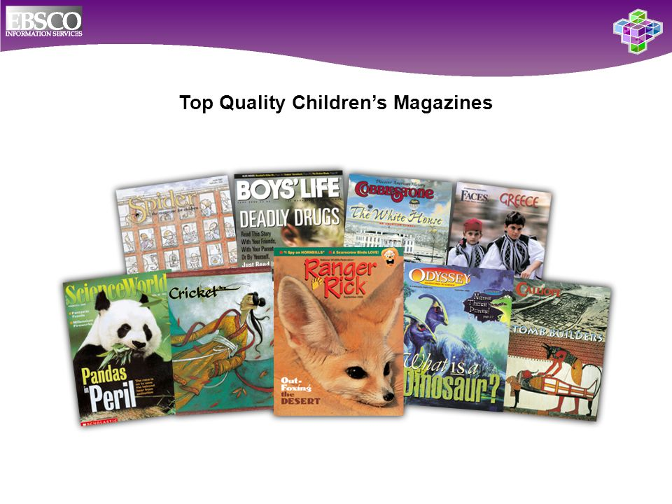 Top Quality Children's Magazines