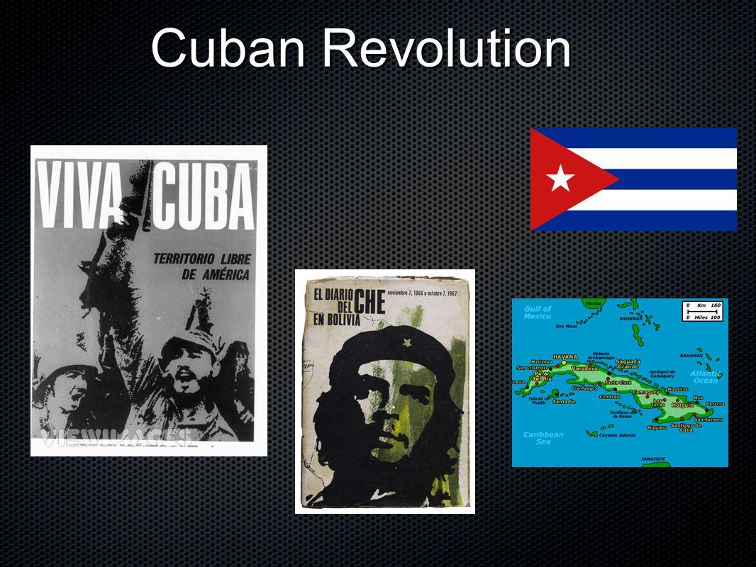 Cuban Revolution Cuban Revolution