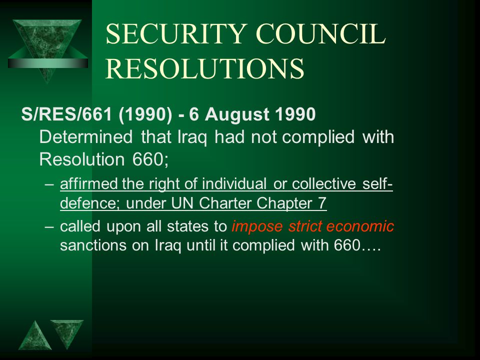 SECURITY COUNCIL RESOLUTIONS t.t.t S/RES/665 (1990) - 25 August 1990 (Art.