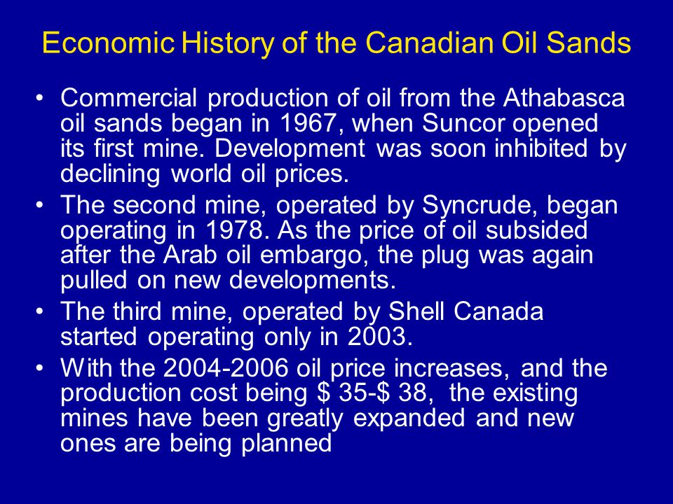 Shale Oil Oil shales are rocks rich in organic matter (kerogen) The oil is derived through retorting, i.e.