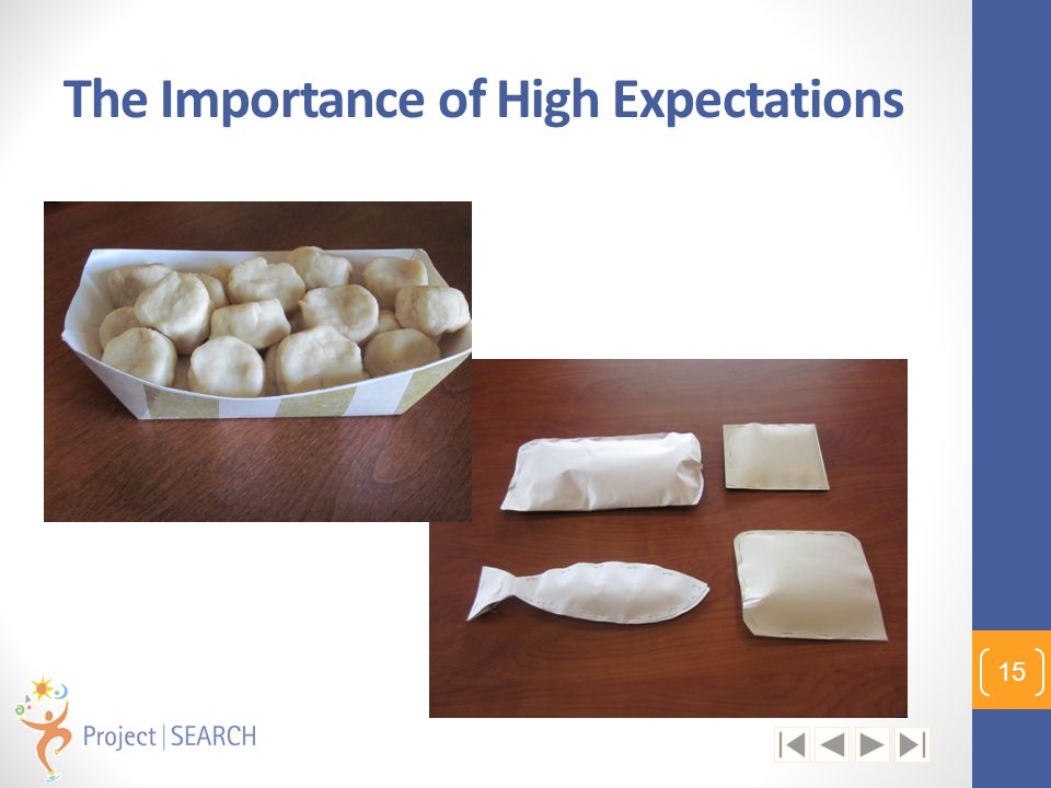 The Importance of High Expectations 15