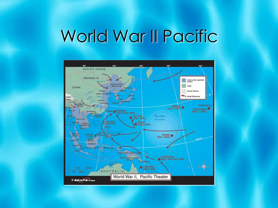 World War II Pacific