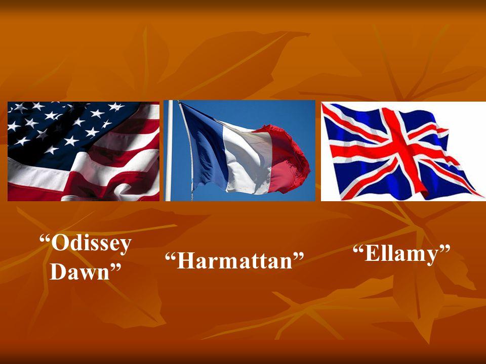 Harmattan Odissey Dawn Ellamy
