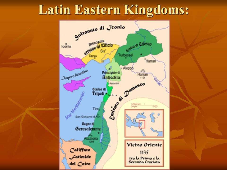 Latin Eastern Kingdoms: Tortosa