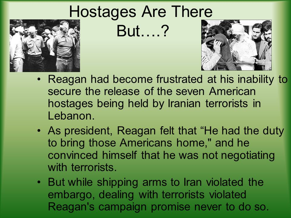 Hostages Are There But…..