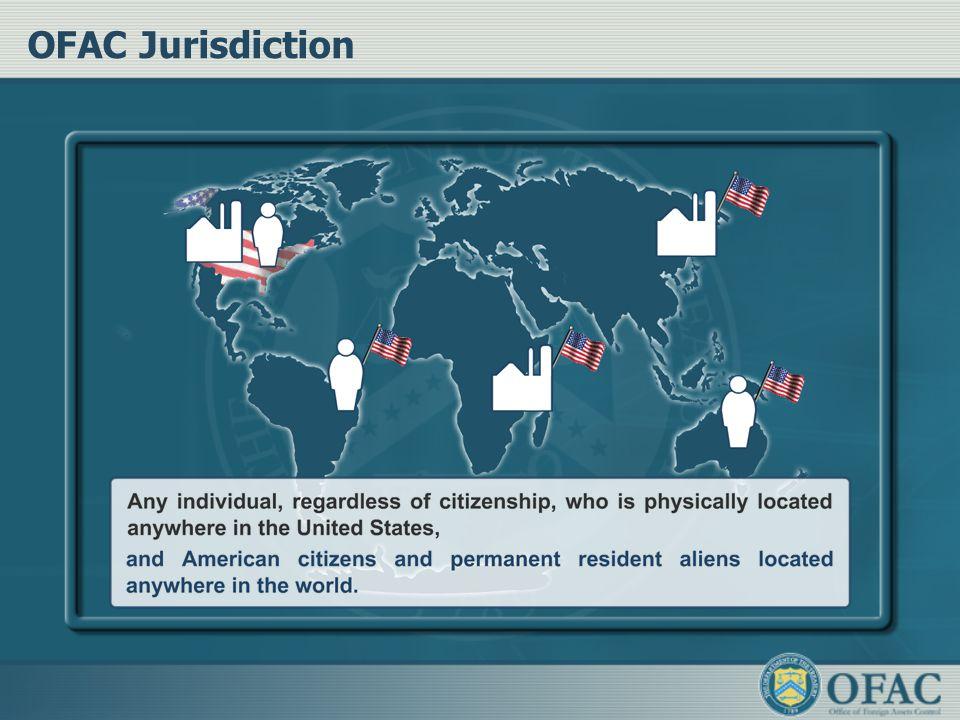 OFAC Jurisdiction