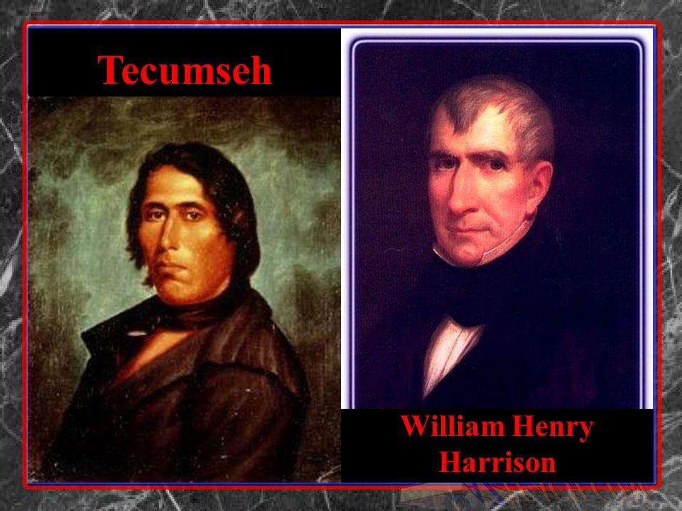 William Henry Harrison Tecumseh
