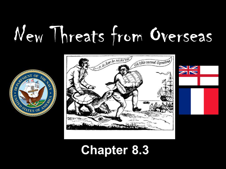 New Threats from Overseas Chapter 8.3