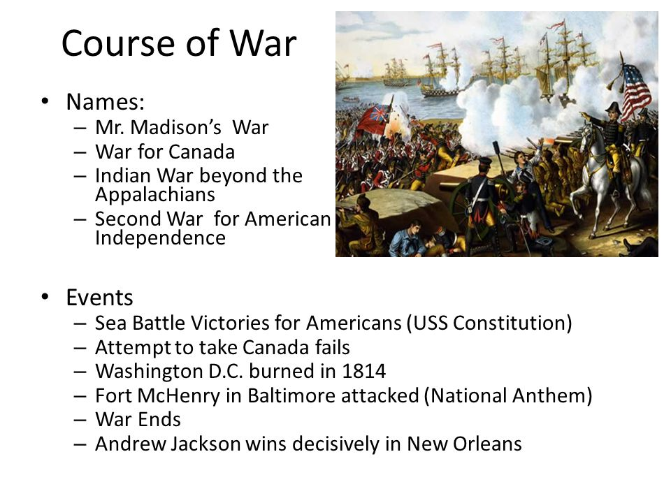 Course of War Names: – Mr.
