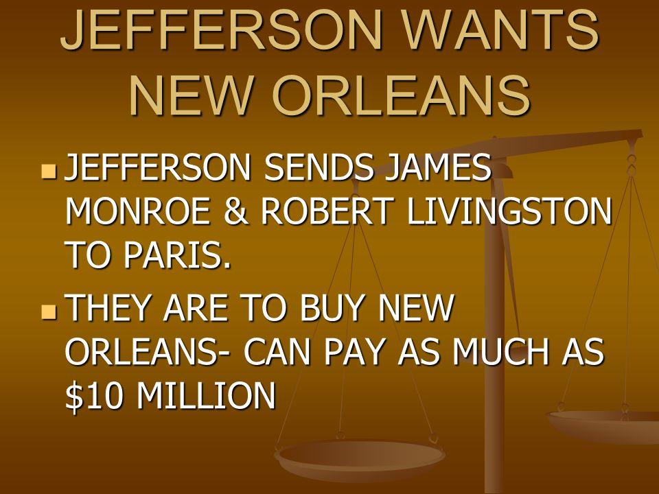 Louisiana Purchase Jefferson's purchase of Louisiana had its origins in his desire to Jefferson's purchase of Louisiana had its origins in his desire