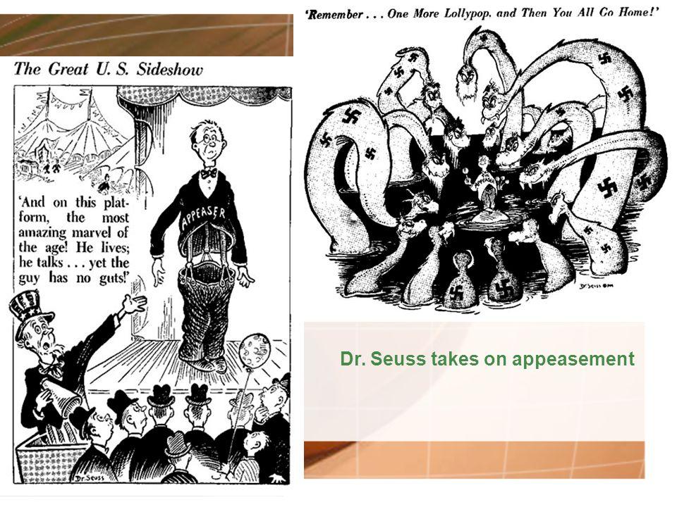 Dr. Seuss takes on appeasement