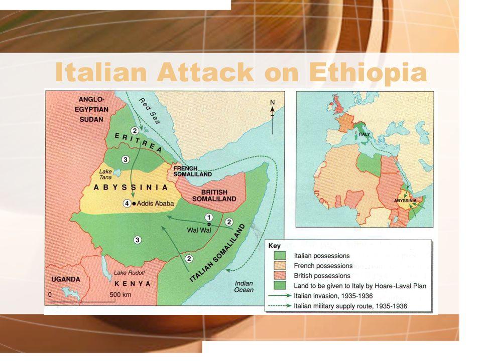 Italian Attack on Ethiopia