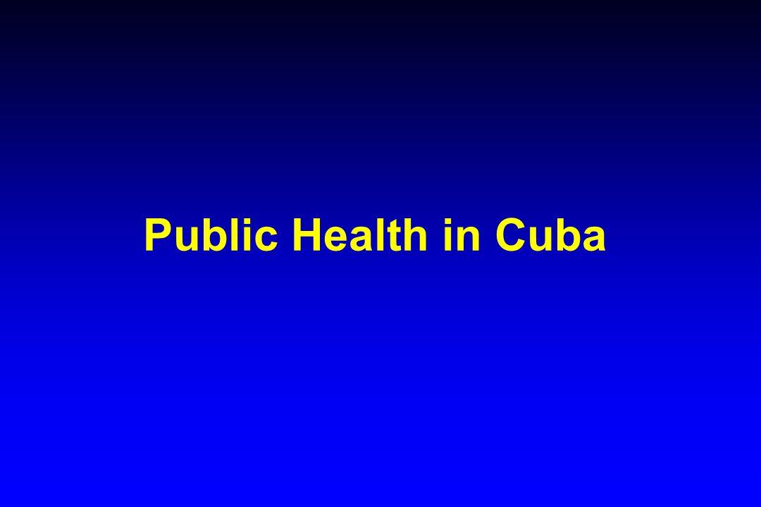 Public Health in Cuba