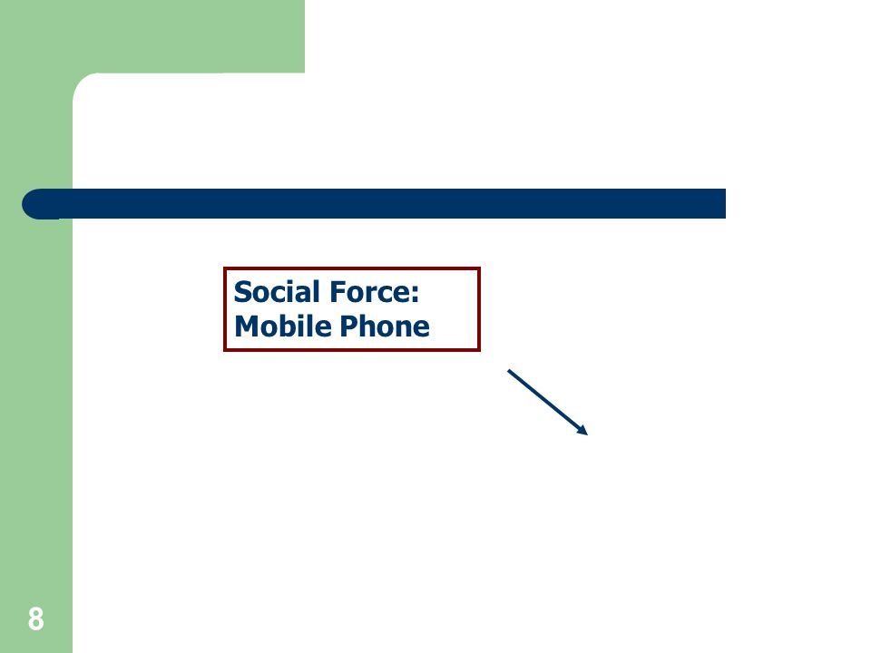 8 Social Force: Mobile Phone
