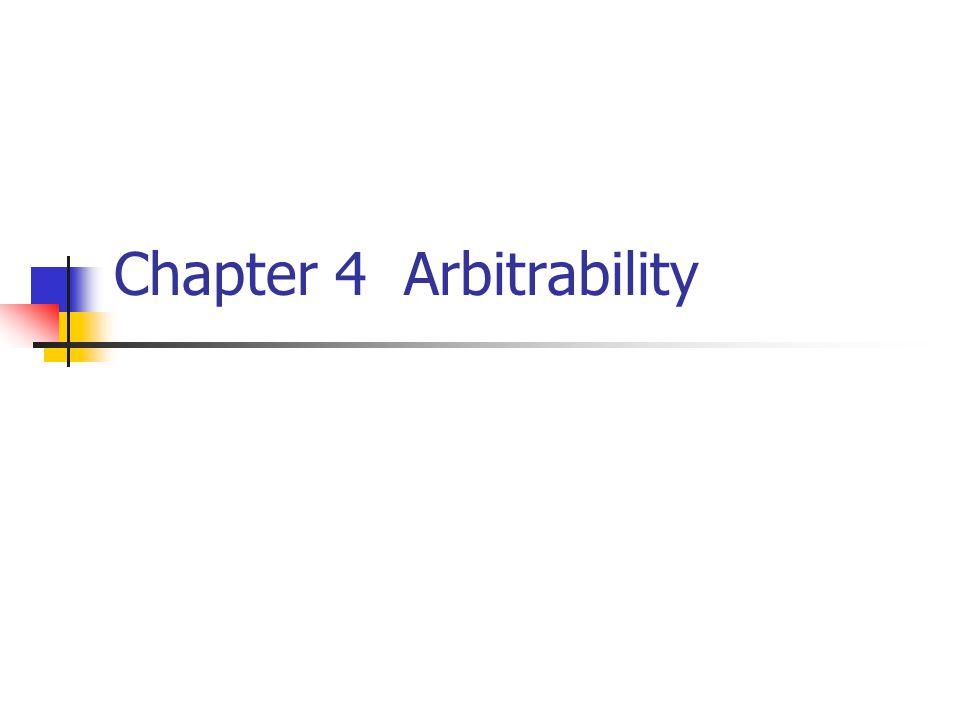 Chapter 4 Arbitrability