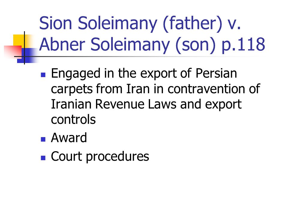 Sion Soleimany (father) v.