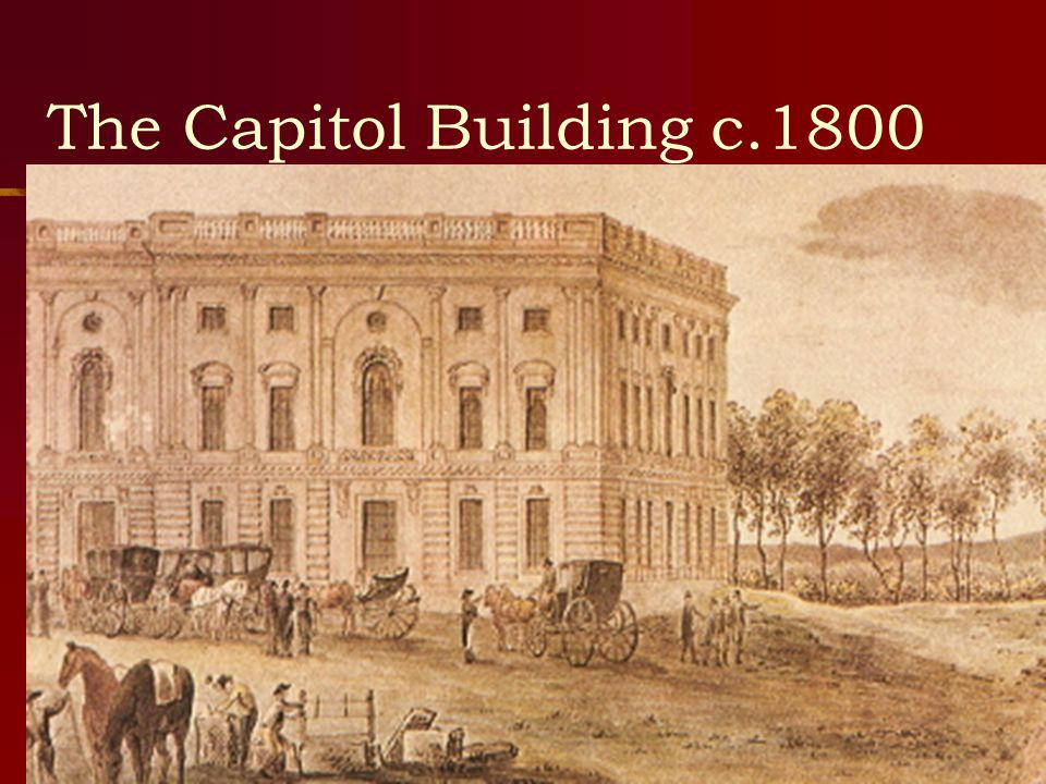 The Capitol Building c.1800