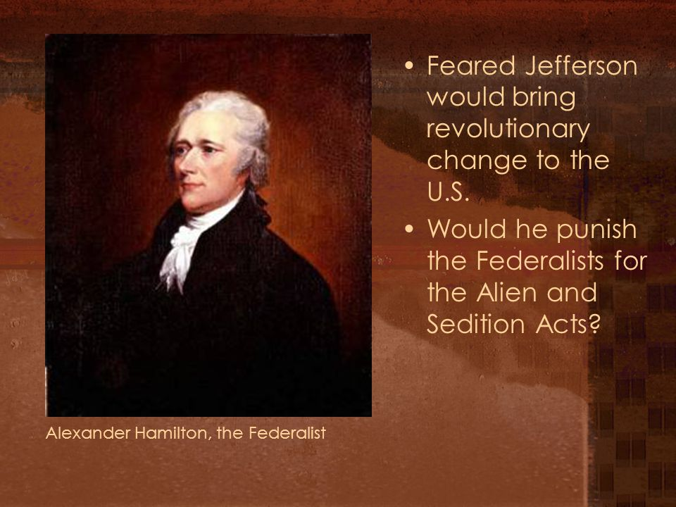 Federalists fear the worst The minority possess their equal rights, which equal laws must protect.