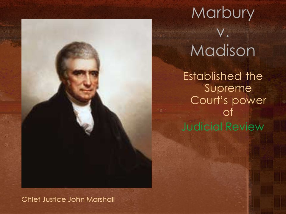 Strengthening the Supreme Court Adams increased the number of judges in the Supreme Court before he quit office.