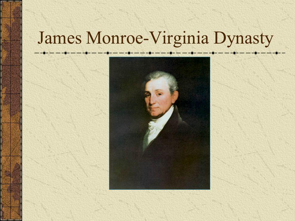 James Monroe-Virginia Dynasty