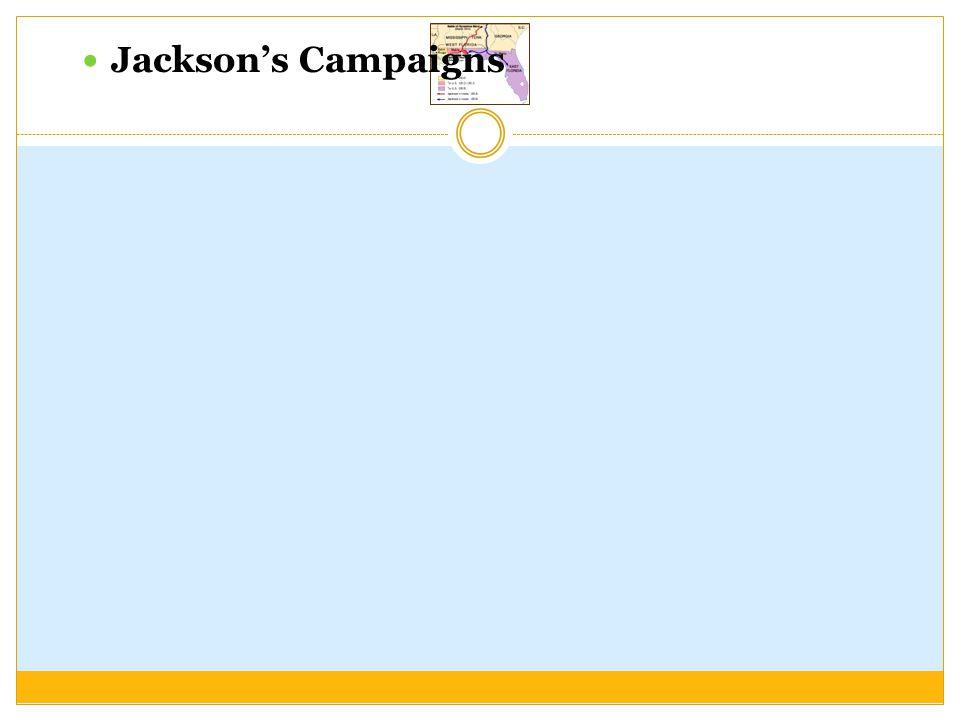 Jackson's Campaigns