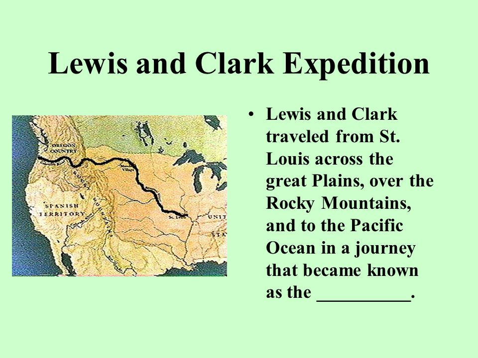 William Clark __________ was chosen by Lewis to be the co-leader of the expedition to explore the Missouri River.